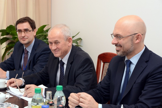Tchórzewski o rynku energii i gazu z ambasadorem Niemiec