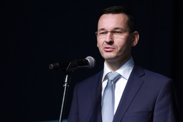 Morawiecki: rząd chce zwiększyć udział inwestycji w PKB