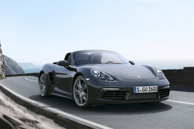 Porsche 718 Boxster: 4-cylindrowy roadster po nowemu