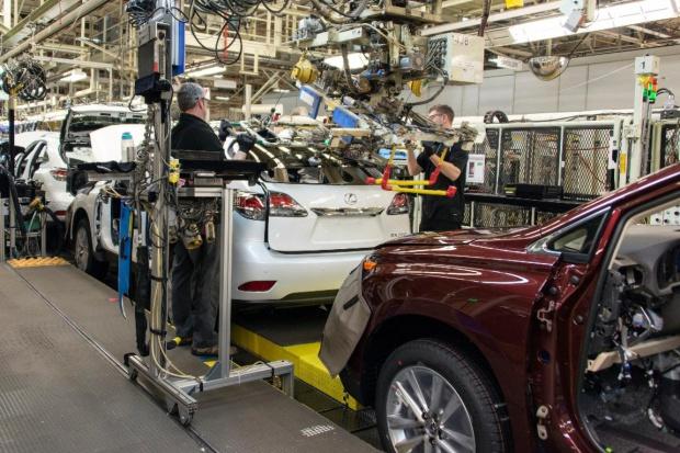 Toyota ponownie największym producentem samochodów