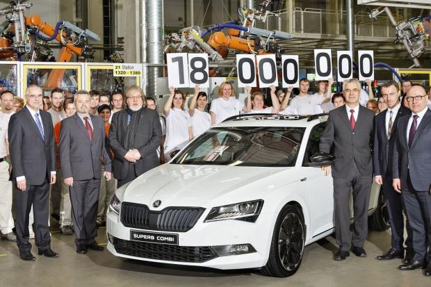 Skoda wyprodukowała 18 milionów aut