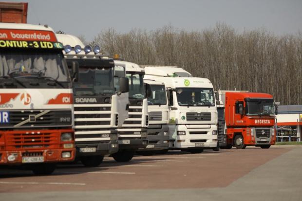 Rosja blokuje ukraińskie ciężarówki