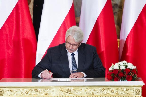 Polityka klimatyczna i bezpieczeństwo gazowe wśród priorytetów polskiego MSZ