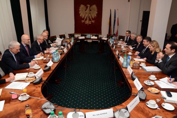 Tchórzewski i wicekanclerz Niemiec o energetyce i gazie