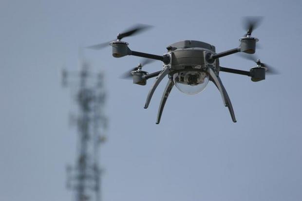 Maersk testuje dostawy ładunków 10 kg dronami