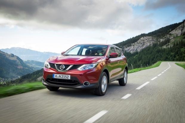 Nissan w Europie wysoko