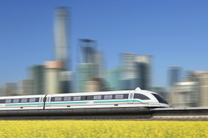 Chiny bliższe oddania dużego odcinka kolei magnetycznej