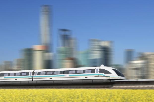 Udane prace badawcze chińskiej kolei magnetycznej