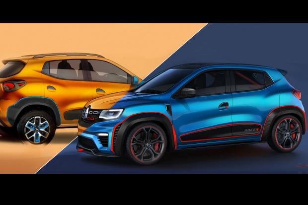 Indyjskie pokazówki Renault