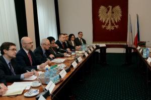 Tchórzewski z czeskim ministrem o bezpieczeństwie energetycznym