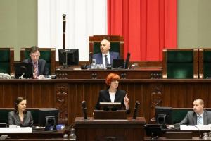 Sejm nie zgodził się na odrzucenie projektu wprowadzającego program 500 plus