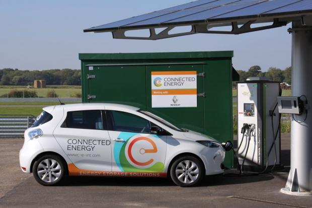 Renault i Connected Energy: współpraca w zakresie użytkowania baterii z e-aut