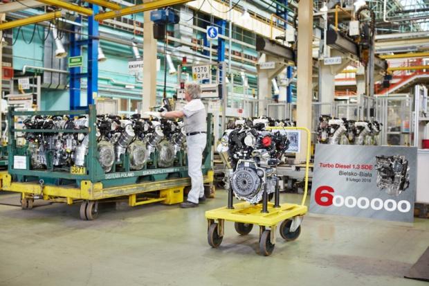 Silnikowy jubileusz fabryki FCA w Bielsku-Białej