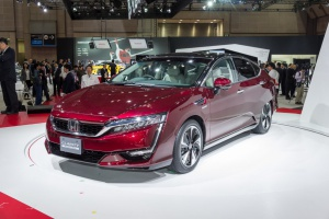 Honda Clarity Fuel Cell. fot. Honda