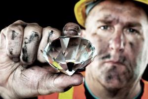 Angola. Wydobyto diament o wadze 404 karatów