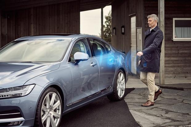 Smartfon zamiast kluczyka do Volvo