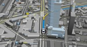 Bosch nawiguje po mapach w 3D