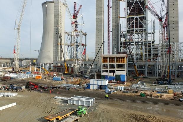 Dwie osoby nie żyją po wypadku na budowie bloków w Elektrowni Opole