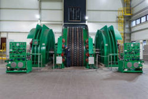 Nowa maszyna wyciągowa w kopalni Budryk