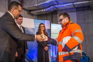 Wydarzenie było połączone z uroczystością wmurowania kamienia węgielnego pod budowę Silesia Business Park C – trzeciego z czterech zaplanowanych budynków.