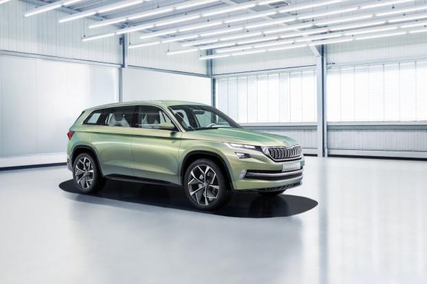 Genewa: Skoda VisionS świętuje prapremierę na Volkswagen Group Night