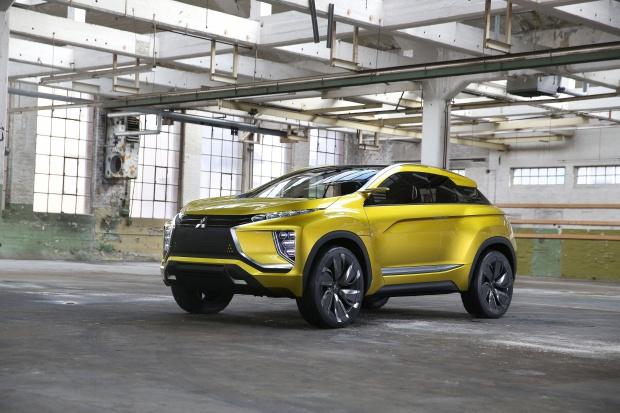 Genewa: eX Concept elektryczny crossover wg Mitsubishi