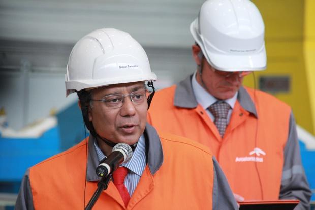 S. Samaddar, ArcelorMittal Poland: musimy być wyczuleni na dumping