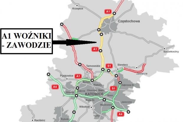 Strabag wybuduje ostatni odcinek A1 Pyrzowice-Częstochowa