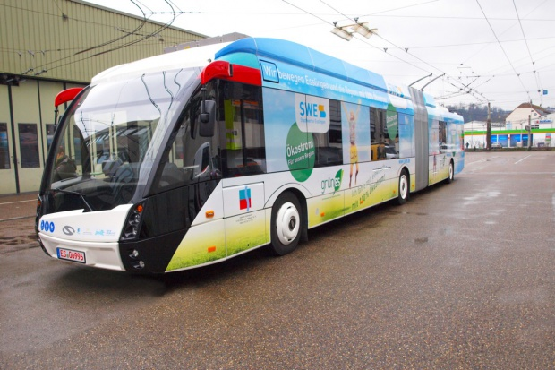 Trolejbusy Solarisa w niemieckim Esslingen