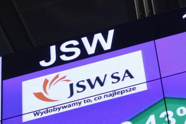 Bardzo wyraźny wzrost notowań JSW