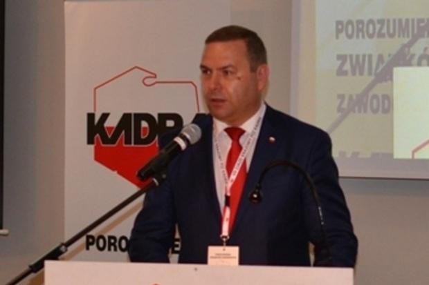Dariusz Trzcionka, szef Kadry: sprawy w KW idą w dobrym kierunku