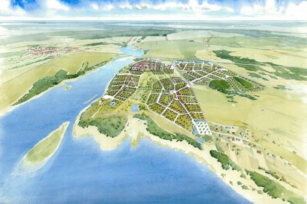 """""""Nowe miasto"""" Siewierz Jeziorna dla 10 tys. mieszkańców"""