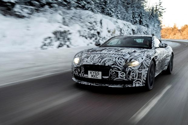Bridgestone partnerem marki Aston Martin