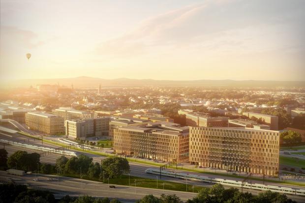 Skanska wybuduje pięć biurowców w centrum Krakowa