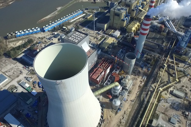 Enea: udana próba wodna kotła bloku 1075 MW