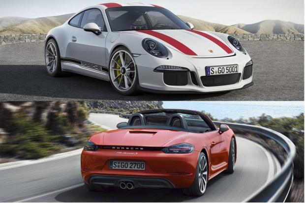 911 R i 718 Boxster - premiery Porsche w Poznaniu