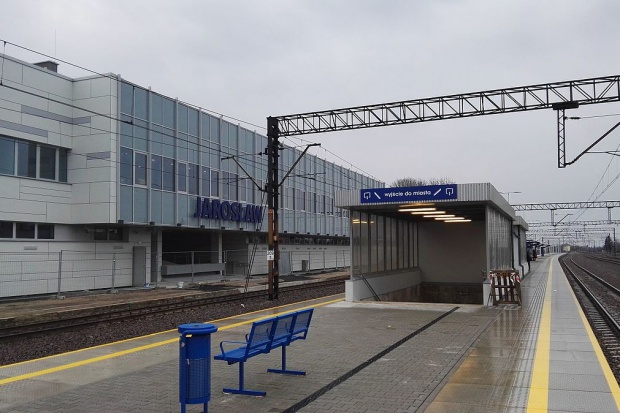 Zakończył się remont dworca PKP w Jarosławiu