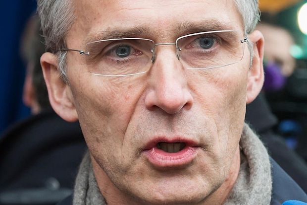 Szef NATO wzywa UE i USA do utrzymania sankcji wobec Rosji