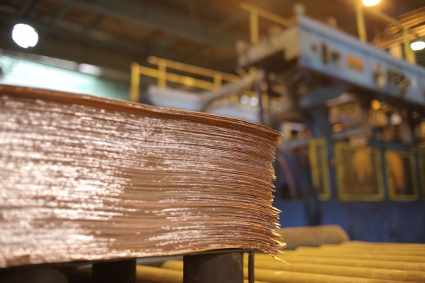 Huty miedzi w Chinach produkują rekordowe ilości metalu