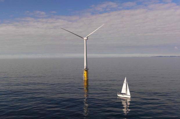 U wybrzeży Szkocji powstanie pływająca farma wiatrowa