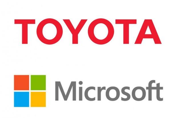 Toyota pod rękę z Microsoftem