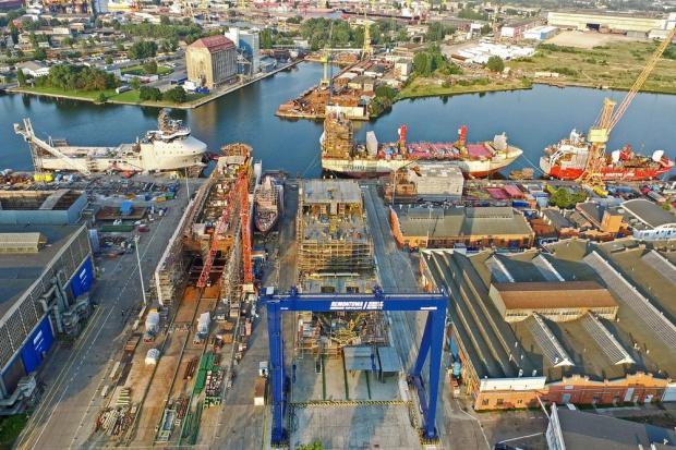 Remontowa Shipbuilding zbudowała statek dla Kanadyjczyków