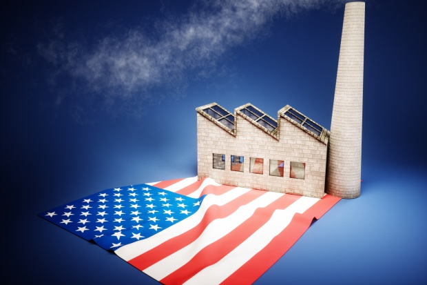 Wzrost produkcji przemysłowej w USA