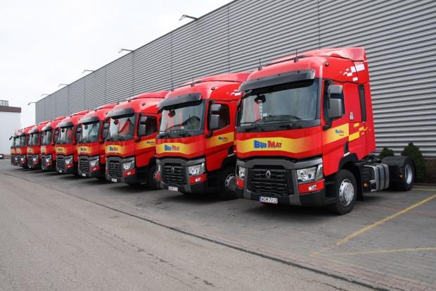 Okazała dostawa ciężarowych Renault
