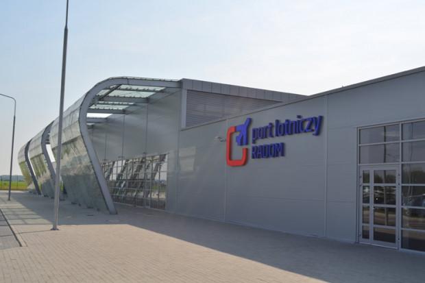 Lotnisko w Radomiu wznowiło obsługę regularnych rejsów