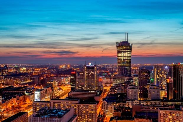 Budowa Warsaw Spire zakończona