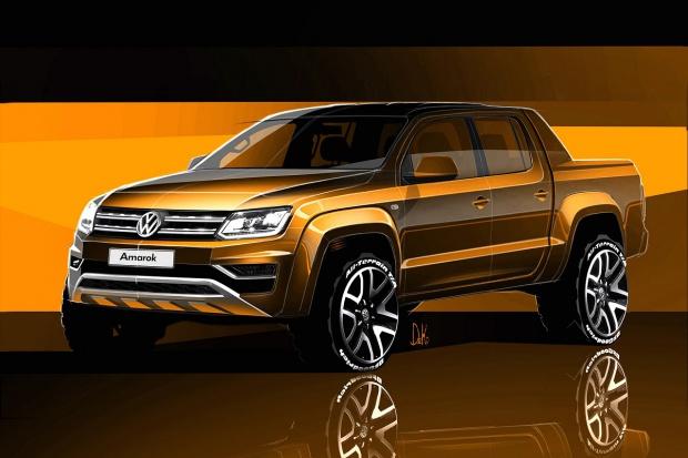 Pick-up Volkswagena w nowym stylu