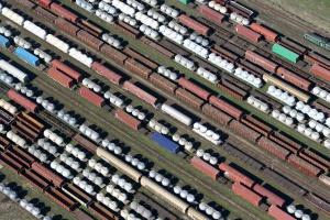 Wyraźne odbicie przewozów kolejowych