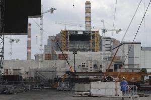 Prace w Czarnobylu w kwietniu 2016 r. Fot. Shutterstock.com