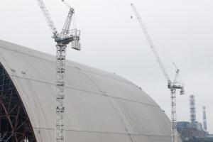 Budowa arki w październiku 2015 r. Fot. Shutterstock.com